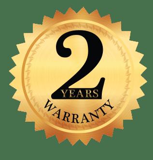 fluotec 2 year warranty seal